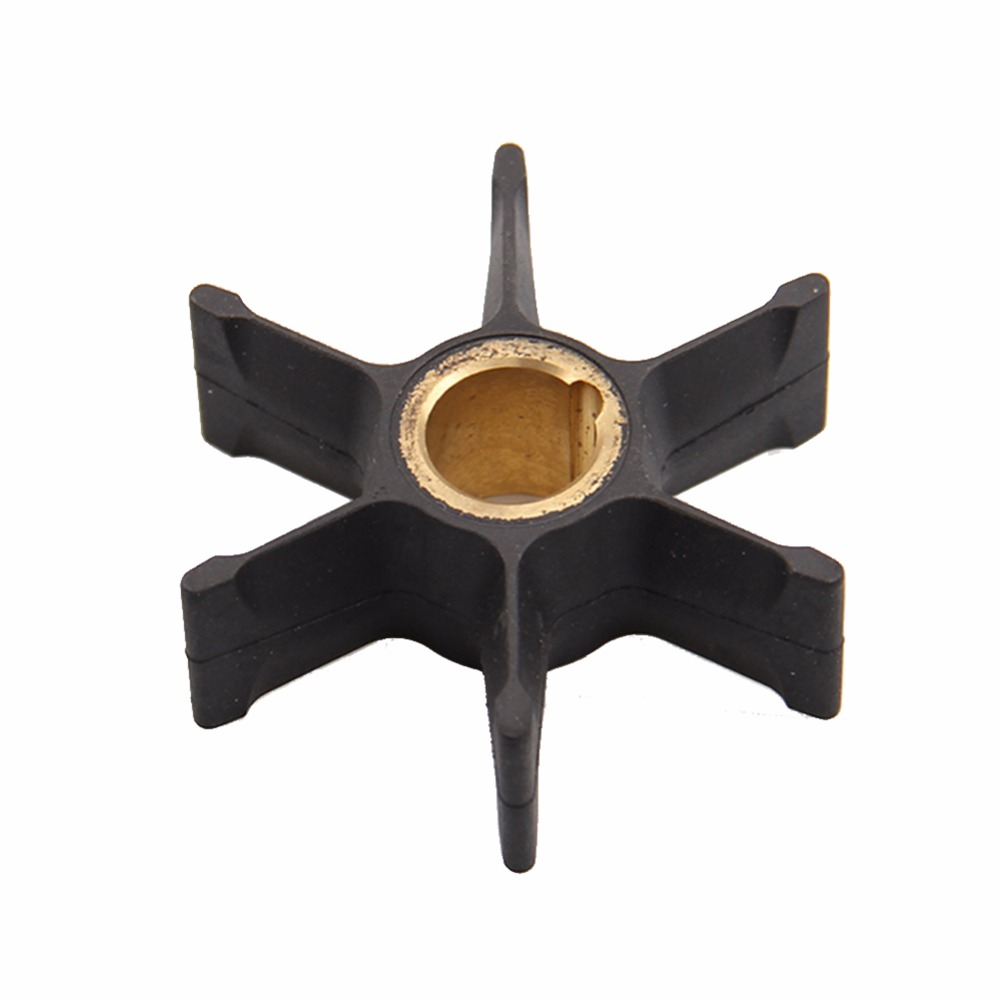 CARBOLE Boat Engine Impeller for Johnson / Evinrude / OMC / BRP 2-stroke Outboard Motor Water Pump Part: 389589 / 777129 #103020