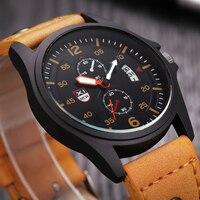 XINEW Luxury Brand Watch Men Casual Luminous Surface Sport Quartz Watches Calendar Function Simple Style Men