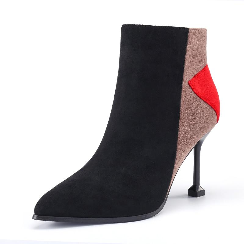 Talons De Hauts 2018 Correspondant Sauvage Chaussures Couleur Automne Fine 1 Sexy Femmes À Bottes 2 Nouveau Printemps Avec Et Martin Ewdx1qE5C