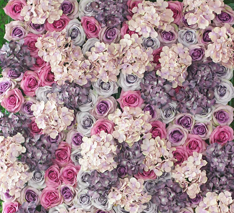 Flowers Designs Decoration Wall : Aliexpress buy high quality colors artificial
