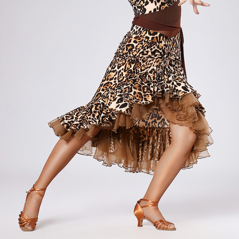 De Ropa Rumba Cha Latina Baile Fiesta Traje Yilinfeier Dama Falda 191 Adulto Las Rojo Salón Mujeres Vestido qxXYT5BOtw