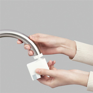Image 2 - Xiaomi Zajia Induction Water Saving Device adjustable Overflow Smart Faucet Sensor Infrared Water Energy Saving Device Kitchen