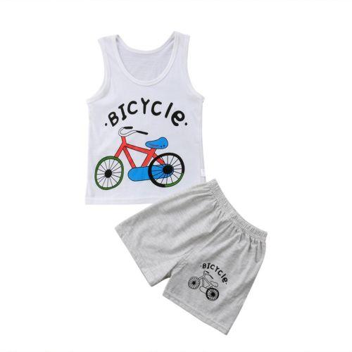 3ba30f688d29 Baby Boy Summer Vest Tops Short Pants Clothes Set Toddler Kids Baby Boys  Tops Vest T-shirt Shorts Pants 2Pcs Outfits Set Clothes