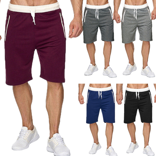 c43ba64ed51e New Summer Shorts Men Sportswear Casual Shorts Fashion Sweatpants Knee  Length Joggers Mens Shorts Bermuda Male