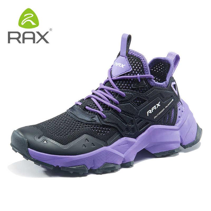 راكس 2019 ربيع جديد نمط ضوء حذاء للسير مسافات طويلة امرأة الرياضة في الهواء الطلق أحذية رياضية للإناث حذاء ارتحال تنفس السفر الأحذية