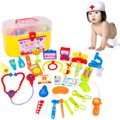 New Arrival Plastic Science Educational Toys 30Pcs/Set Doctor Nurse Pretend Play Medical Case Kit For Baby Kids Role Play