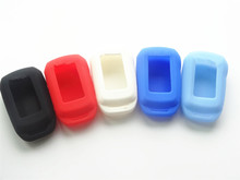Силиконовые Ключи FOB чехол для Starline A92/A94/V62/A62/A64 ЖК-дисплей способ автомобиль дистанционного 2 способ сигнализации A92 ЖК-дисплей автомобиля stying