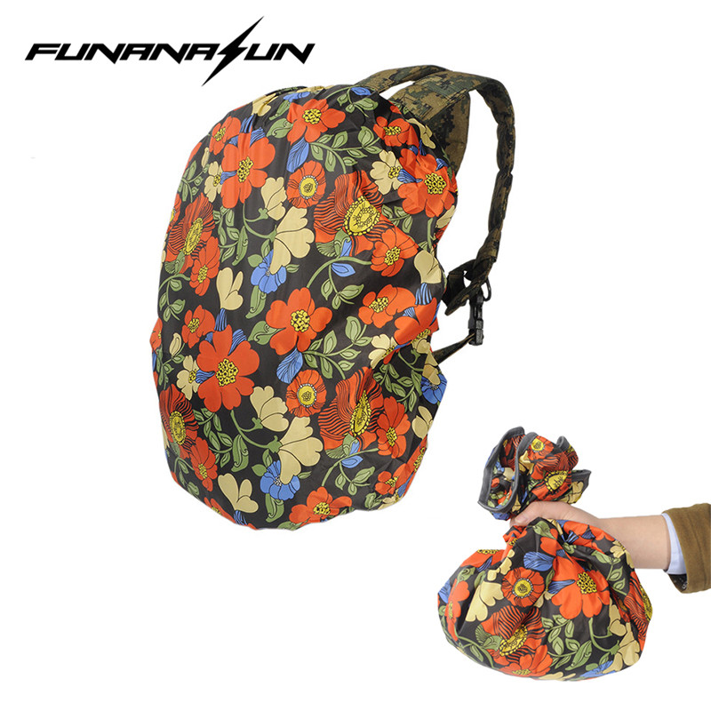 30L-40L Outdoor Climbing Bag Rain Cover Case Waterproof  Luggage Backpack Travel Bag Protable Dustproof Nylon Bag