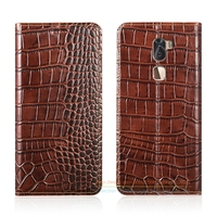 Crocodile Grain Genuine Leather Case For Letv LeEco Cool 1 Dual Leeco Coolpad Cool1 5 5