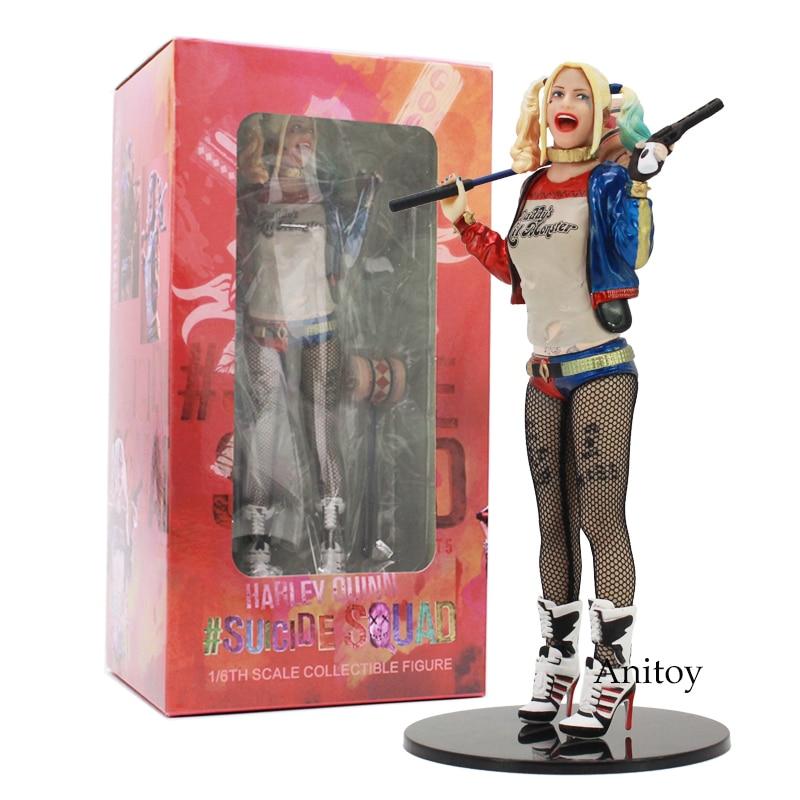 Suicide squad Harley Quinn 1/6th Básculas juguete figura coleccionable 18 cm