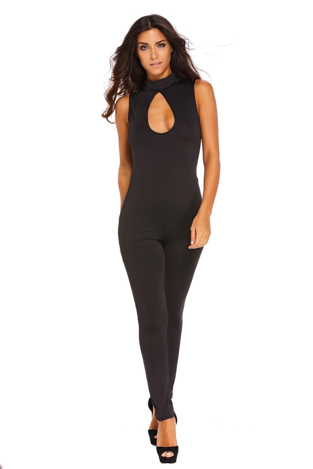 Black-Pee-hole-Bust-Sleeveless-Jumpsuit-LC64033-2-4