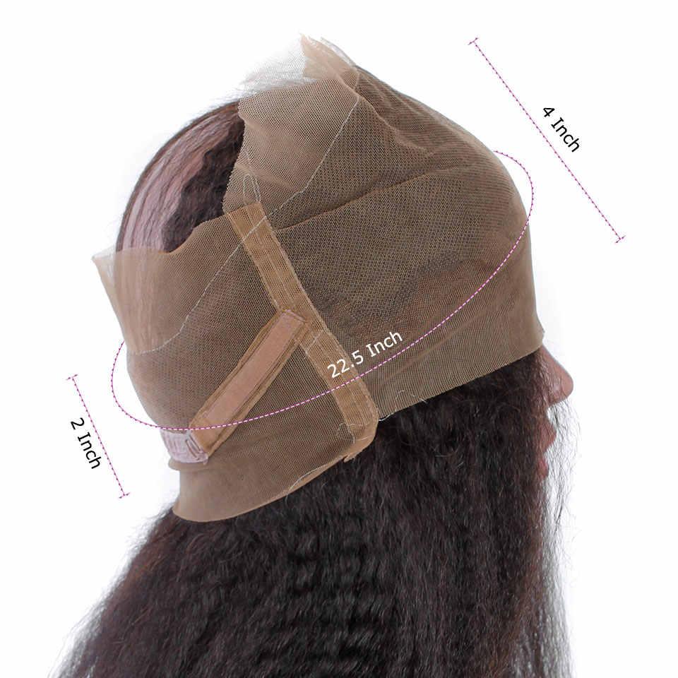 YVONNE 360 Spitze Frontal-brasilianischen Verworrene Gerade Reines Haar Natürliche Farbe 100% Menschliches Haar Mit Einstellung