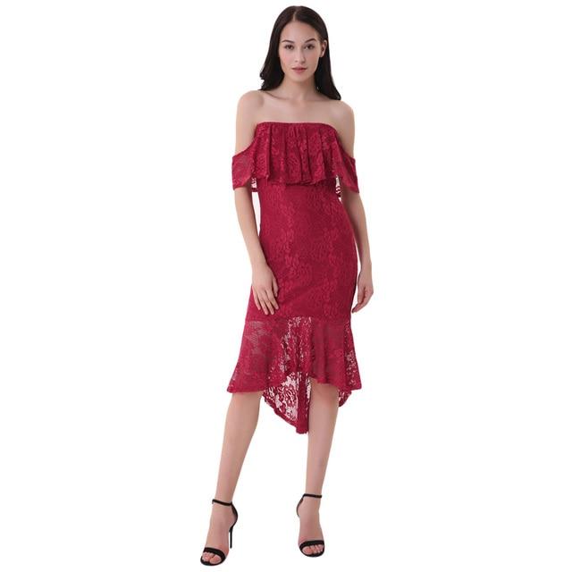 Straight High Low Dresses