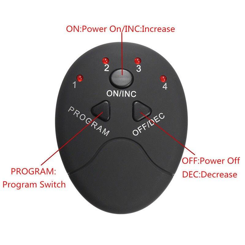 Умный стимулятор мышц для фитнеса, электрический аппарат для тренировки мышц живота, тренажер для пресса в тренажерном зале