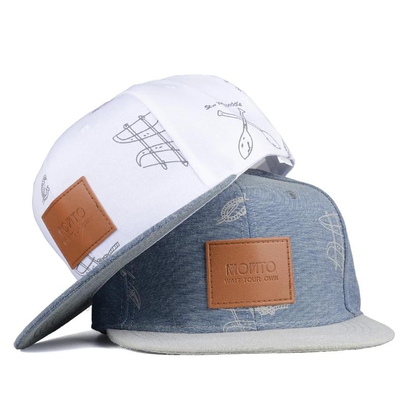 Winter Flat Along Hat Hip Hopcap Classic Cap