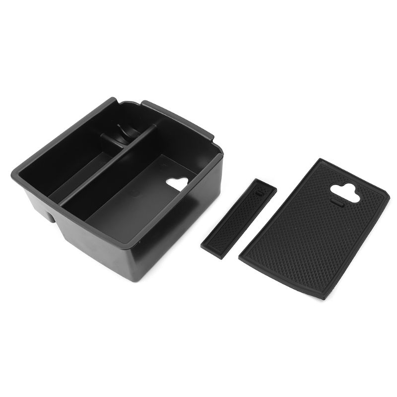 Car Center Console Organizer Tray Armrest Storage Box For VW Tiguan MK2 2016 2017 2018 image