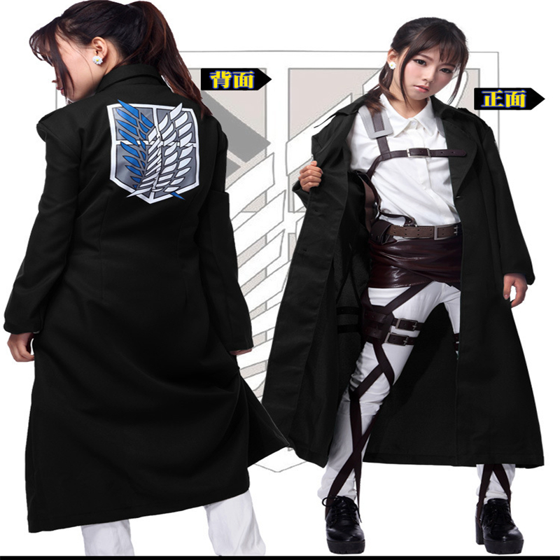 Halloween Attack on Titan Attack Titan Le Verrier Cosplay Dance Party Anime Jacket Cloak Clothing Men and Women Applicable