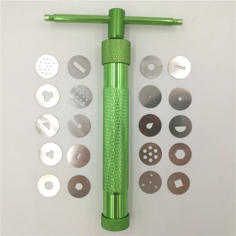 19 დისკი თიხის თიხა Fimo Extruder Craft - ხელოვნება, რეწვა და კერვა - ფოტო 3