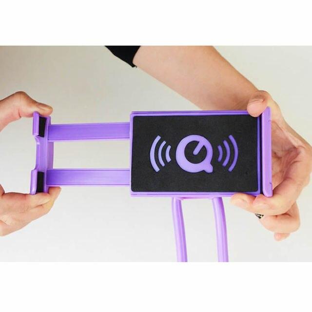 Soporte Universal de 360 grados de rotación Flexible de teléfono para cuello 3