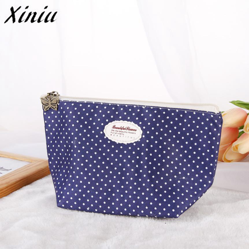 Xiniu Portable Travel Cosmetic Bag Makeup Case Pouch Toiletry Wash Organizer Pouch/Bag Mala De Maquiagem A0711