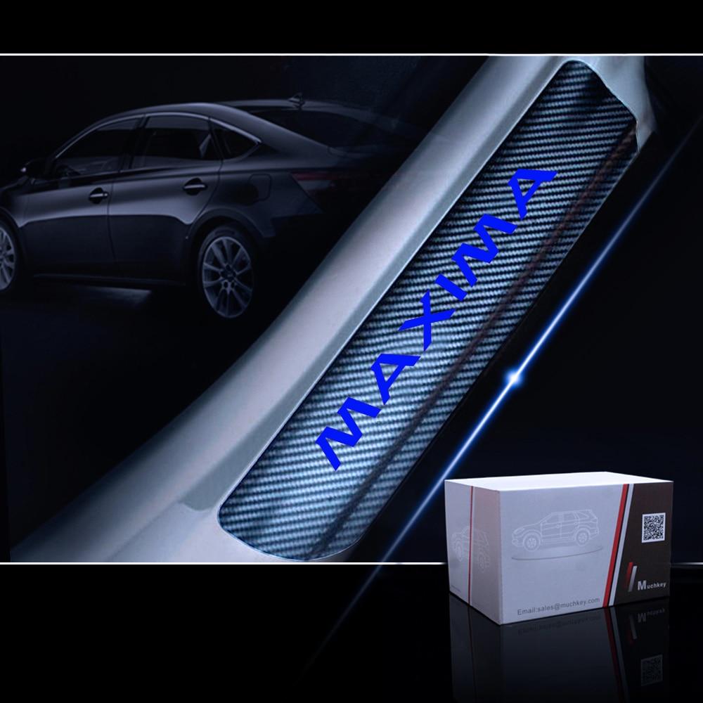 iPick Image Nissan Maxima Maxima Real Black Carbon Fiber License Plate Frame