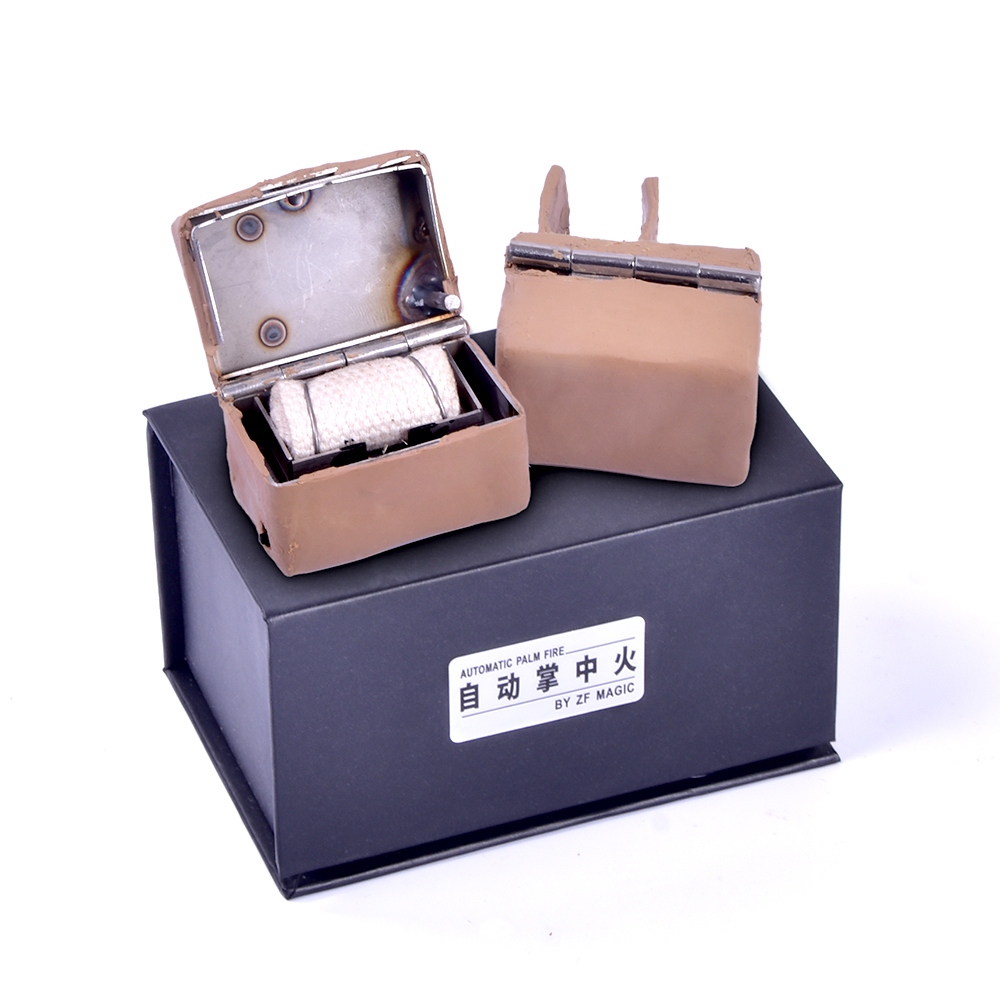 Automatic Palm Fire by ZF MAGIC Magic Tricks Funny Stage Magic Fire Magie Illusion Gimmick Props