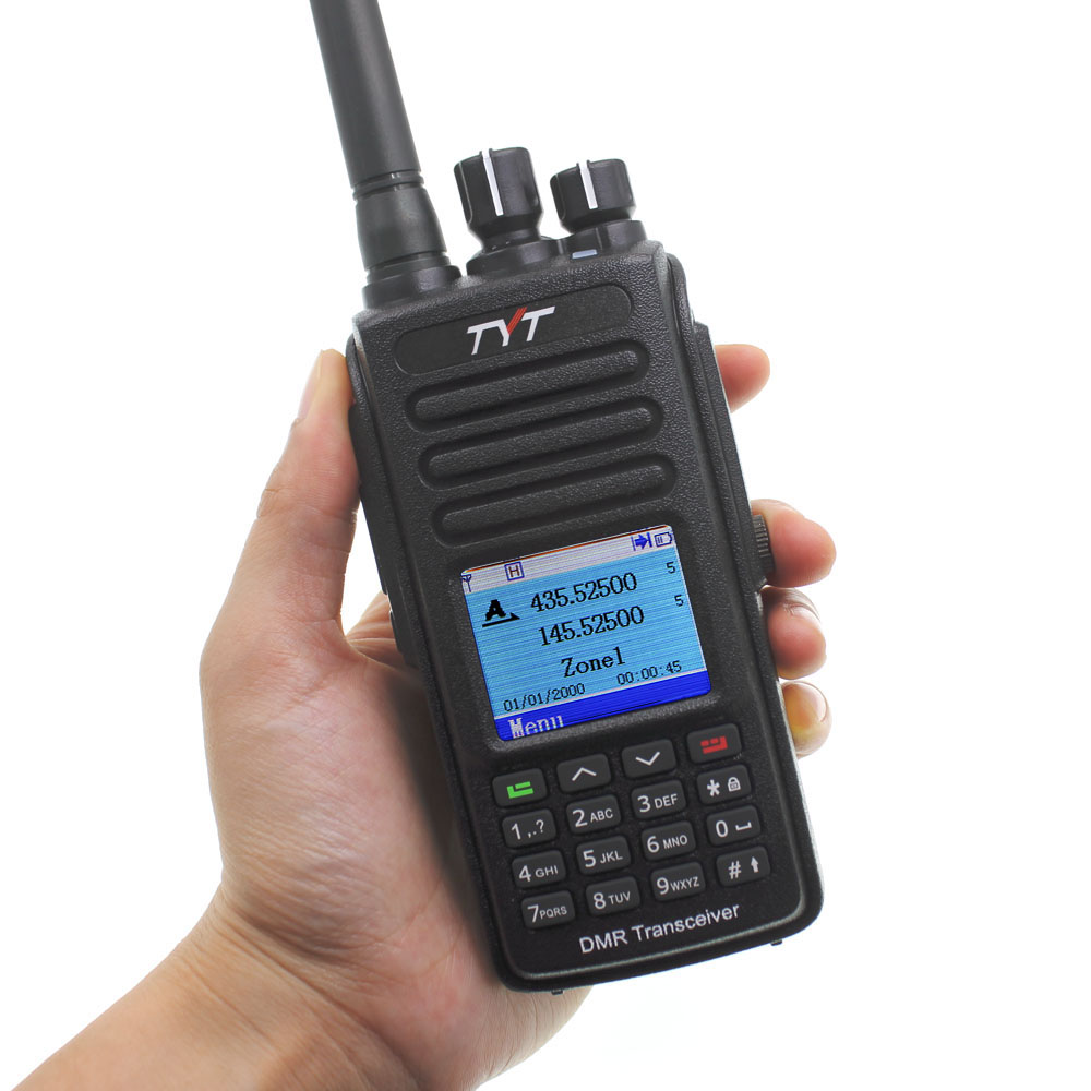 Image 5 - TYT MD UV390 DMR Digital Walkie Talkie UV390 IP67 Waterproof Dual Band UV transceiver GPS Optional Upgrde of MD 390 + USB cable-in Walkie Talkie from Cellphones & Telecommunications