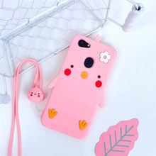 Cute 3D Cartoon Soft Silicone Phone Case For OPPO A83 A79 A73 A59 A57 A53 A39 A37 A33 F1S F3 F5 R9 R9S R11S Plus Back Cover Case(China)