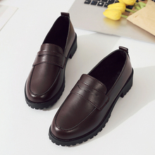 2019 New Leather Ladies Flat shoes Woman Flats Loafers Women Oxford fashion Slip On Casual Female Shoes sapatos mocassin femme women s platform shoes new spring casual woman weave shoes breathable girls handmade sapatos femininos loafers ladies shoes fx3