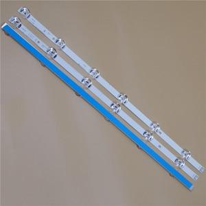 Image 2 - تلفزيون LED القضبان ل LG 32LB5800 32LB5700 32LB580U 32LB580V 32LB570U 32LB570V 32LB580B LED شريط إضاءة خلفي كيت 6LED مصباح عدسة 3 العصابات