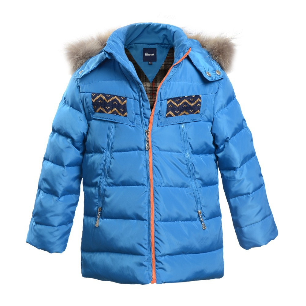 Free Shipping Children Winter Outerwear Boys Kids Down Jacket Warm Coat