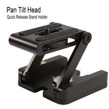 Z Flex складной наклон складной настольный держатель Универсальный инструмент для SLR Canon Nikon sony Quick Release Plate стенд держатель камеры