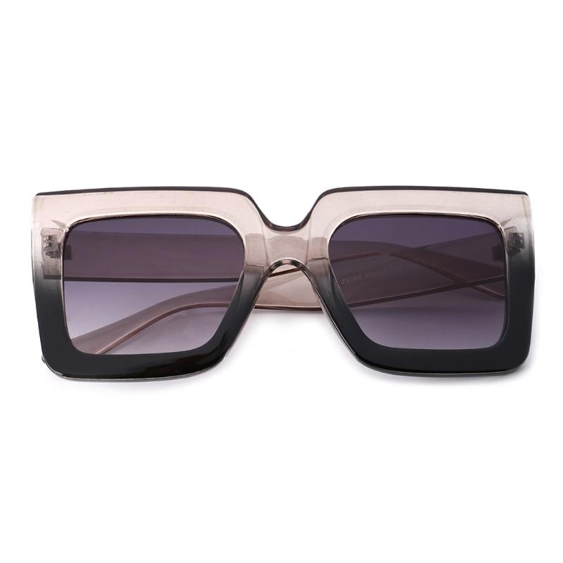 51ac3a5aef Nuevo cuadrado gafas de sol moda Vintage mujeres hombres marco grueso gafas  de sol anteojos UV400 en Gafas de sol de Accesorios de ropa en  AliExpress.com ...