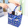 Lunch box tote lunch box  primary school students lunch bags lunch bag belt bag tote thermal insulation