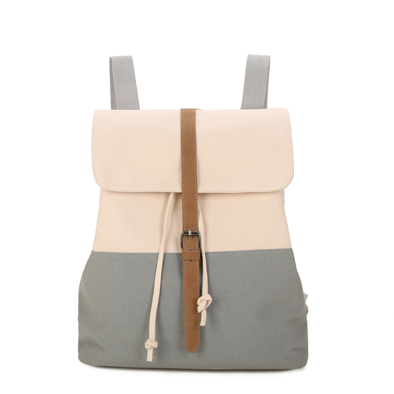 Canvas Backpack Drawstring Sack Bagpack For Backpacks Backpack For Teenage Girl College Student Mochila