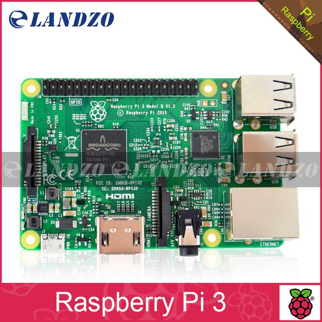 Element14 Versão: 2016 Nova Placa Raspberry Pi 3 Modelo B 1 GB LPDDR2 BCM2837 Quad-Core Ras PI3 B, PI 3B, PI 3 B com WiFi & Bluetooth