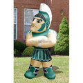 Oxford fabric Made Cool Inflatable Mascot Sparta Blow Up Spartans Soldier Figure 3m H