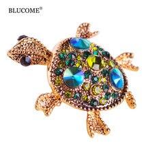 Turtle Hijab Brooch Pin