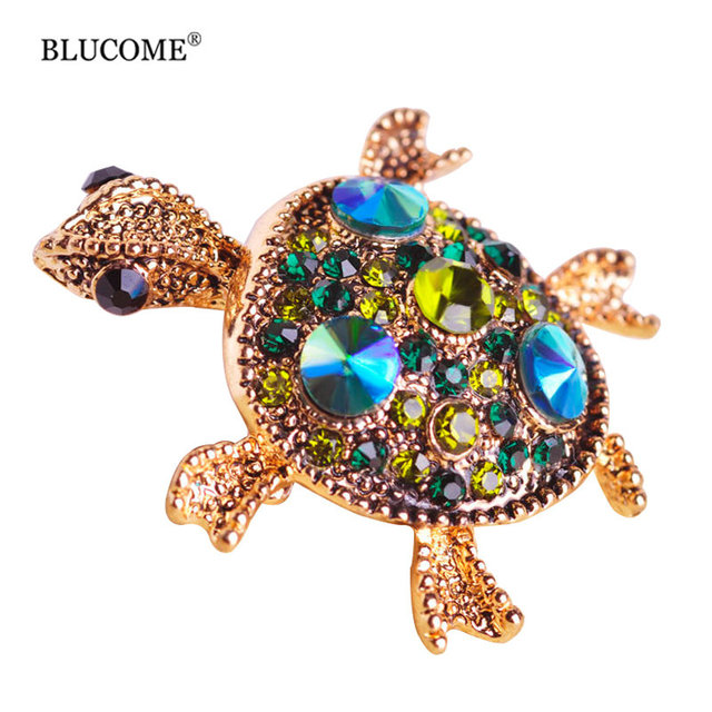 Turtle Hijab Brooch Pin