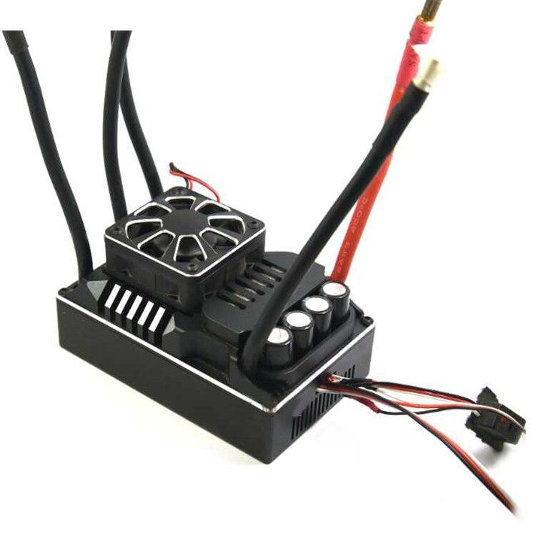 1 PC ZTW 300A ESC 12 S Lipo Beast PRO sans balai ESC 6 V-7.4 V régulateur électronique étanche avec ventilateur de refroidissement pour 1/5 voitures RC