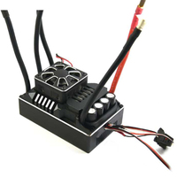 1PC ZTW 300A ESC 12S Lipo Beast PRO Brushless ESC 6V 7.4V Waterproof Electronic Governor with Cooling Fan for 1/5 RC Cars