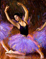 Paintings art Canvas oil paintings girl wallpapers canvas paintings ballerinas oil painting home decor wall decoration