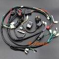 Cablagens Tear completo Bobina De Ignição NGK Para 150cc CDI Zongshen Lifan 200cc 250cc 300cc ATV Quad Buggy Elétrico Início motor