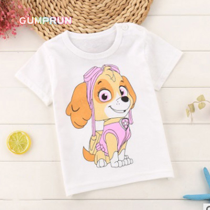Cute baby boys clothes cartoon printing children t-shirt cotton casual girls short sleeve shirt 1-4 years old children clothing fashion baby girl t shirt set cotton heart print shirt hole denim cropped trousers casual polka dot children clothing set