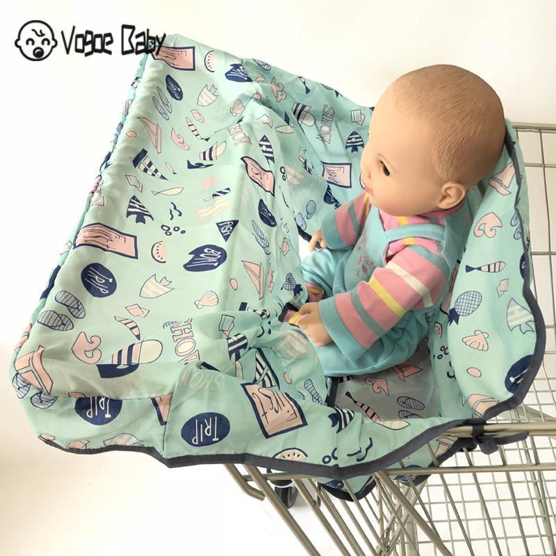 Многофункциональная детская подушка для перемещения ребенка милая детская магазинная Тележка для покупок Защитная Подушка безопасности легко переносить 7479 - Цвет: B