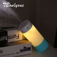 TBonlyone 460ML Fish Tank USB Air Humidifier Aroma Essential Oil Diffuser For Home Electric Aroma Diffuser
