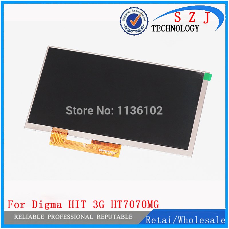 New 7'' inch 30pin tablet pc Digma HIT 3G HT7070MG lcd display screen matrix Digma Optima 7.07 3G TT7007MG lcd screen стоимость