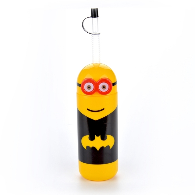 Yellow Minions Super Hero Soda Water Bottles