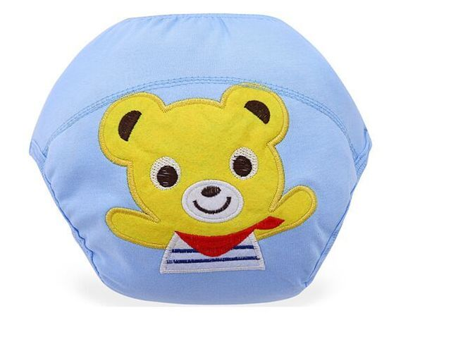 10pcs/lot  Baby Training Pants/Child Cloth Study Pants/Reusable Nappy Cover/Washable Diapers Underwear trx0004