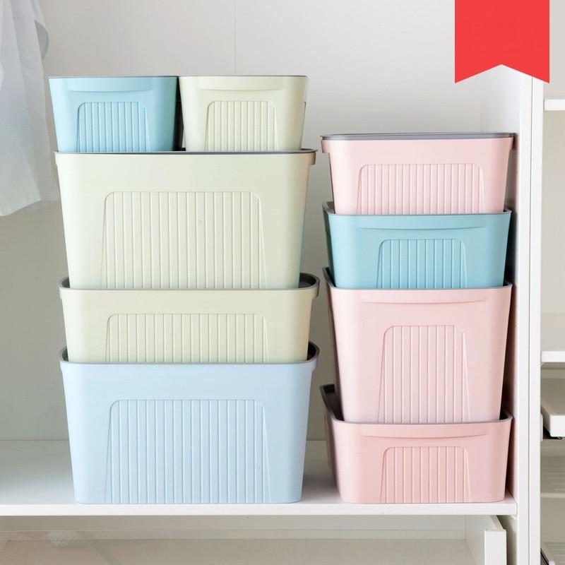 large covered storage box wardrobe storage box plastic. Black Bedroom Furniture Sets. Home Design Ideas